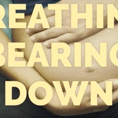 Breathing Bearing Down and Directed Pushing in the second stage of labour